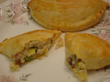 Creamy Vegetable And Rice Turnover Recipe