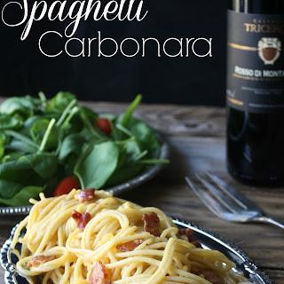Spaghetti Carbonara With Heavy Cream Recipes