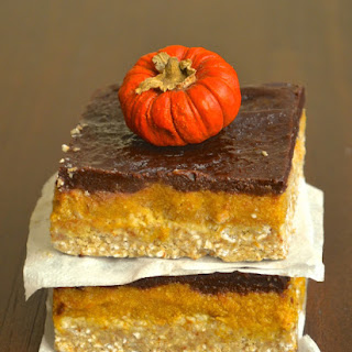 Pumpkin & Chocolate Squares