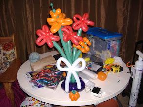 Photo: Autumn balloon flowers fun on a Turnadaisy Take 3 with Butler top workstation, love it!