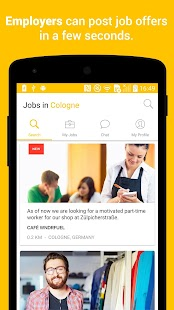 Jobfox - the place for side & part-time jobs- screenshot thumbnail