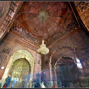 Jama Maszid by Debasis Banerjee - Buildings & Architecture Places of Worship ( mosks, mughal architecture, jama masjid, delhi )