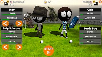 Stickman Cross Golf Battle
