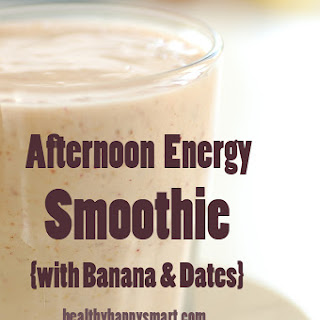 Afternoon Energy Smoothie.