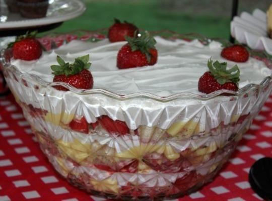 Healthy Banana Split Cake Recipe