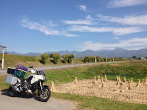 Photo: 八ヶ岳が見えてきました。
