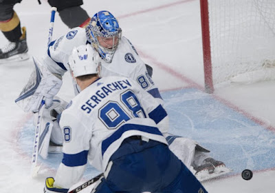 NHL : Tampa Bay s'impose de nouveau contre Washington