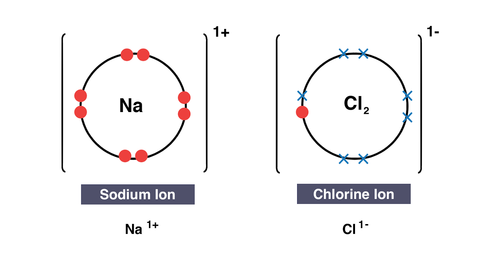sodium chloride dot diagram igcse chemistry 2017: 1.40: draw dot-and-cross diagrams to ... #10