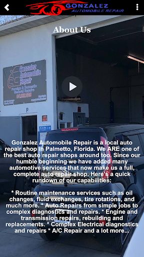 Screenshot for Gonzalez Automobile Repair in United States Play Store