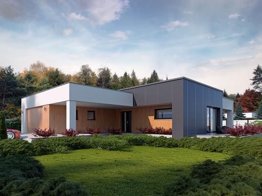 projekt domu Etno
