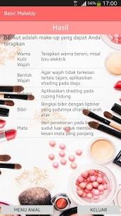 Basic MakeUp - náhled
