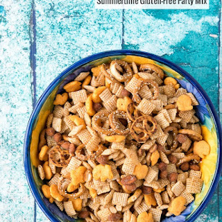 Summertime Gluten-Free Party Mix.