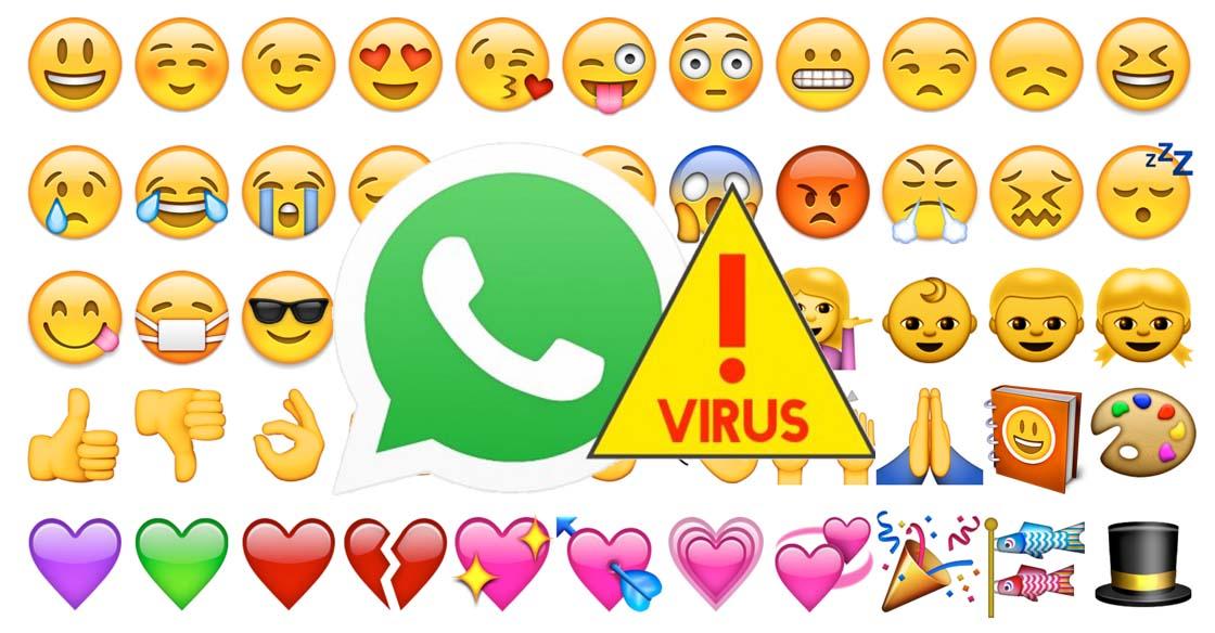 """WhatsApp """"Nuove faccine emoji"""" Ma è un Virus!"""