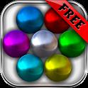 Magnet Balls Free: Match-Three Physics Puzzle icon