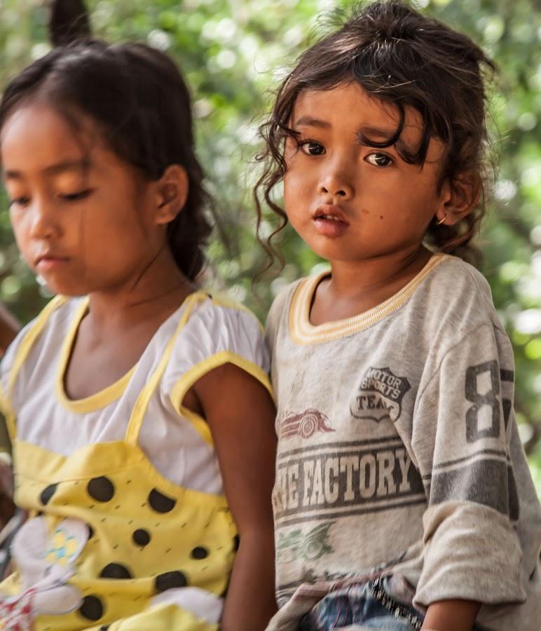 Village girl by Natasha Belikova - Babies & Children Children Candids ( girl, village, children, beauty, cambodia )