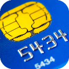 Read bank cards - NFC reader icon