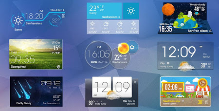 Clock & Daily Hourly  Weather 2.0_release screenshot 331097