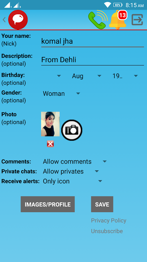 Indian Girls Live Chat- screenshot