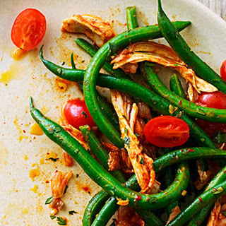 Korean-Style Chicken and Green Bean Salad.