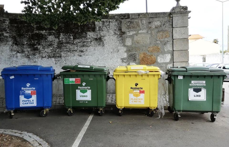 Campanha em Lamego melhora separação de resíduos