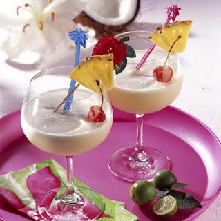 Caribbean Coconut Cocktail.