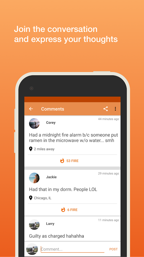 Kickit -Trending Conversations- screenshot