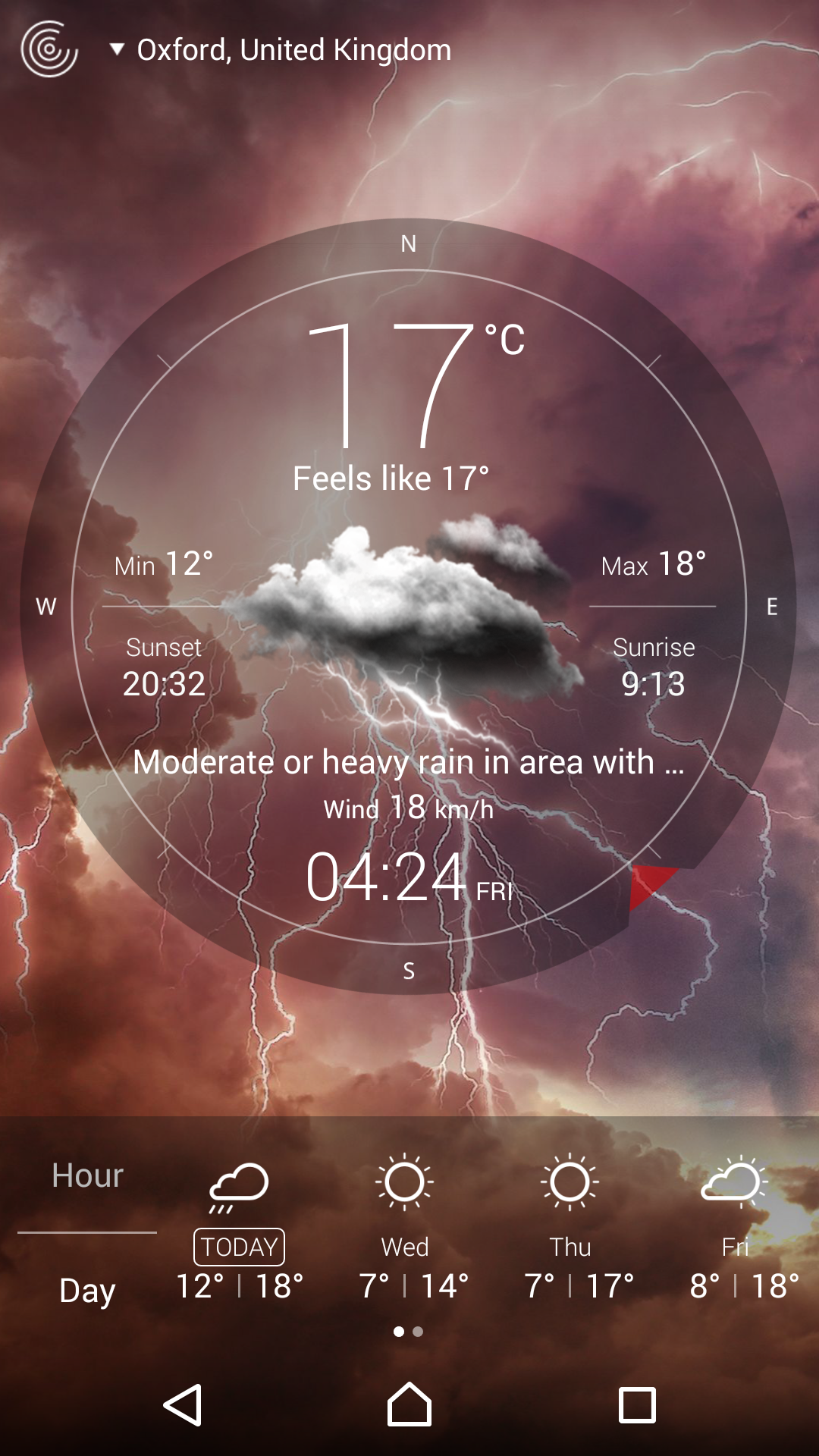 Weather Live screenshot #8