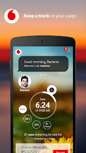 MyVodafone (India) - Recharge, Pay Bills & more.- screenshot thumbnail