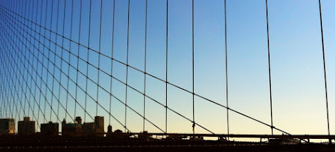 Photo: Grid. Of Brooklyn Bridge