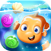 Fish Ocean Match 3 Games Free