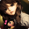Cute Doll Wallpaper HD