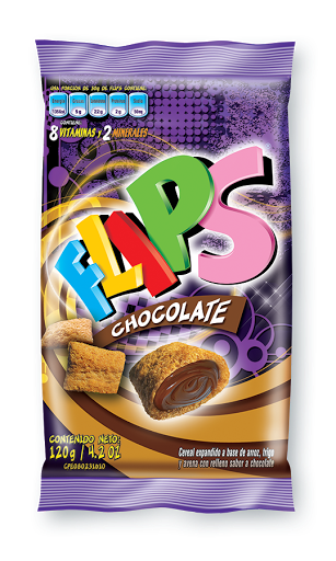cereal flips chocolate bolsa 120gr