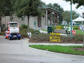 Photo: Voting, South Village, Celebration, FL
