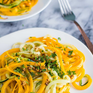 Garlic Herb Spiralized Veggies