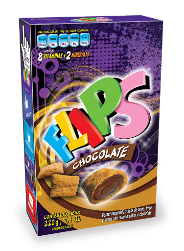 Cereal Flips Chocolate 220g Alfonso Rivas 220g