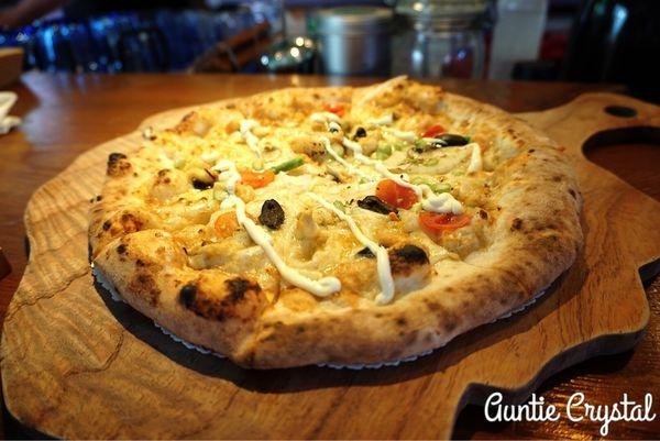 LUAU PIZZA CAFE 柴寮披薩 首座現烤窯烤PIZZA 又是寵物可以跑跑跑的友善餐廳推薦!