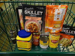 Photo: My full shopping cart is complete and now I am ready to check out! I had the chicken in my freezer already but picked up all the other necessary ingredients.