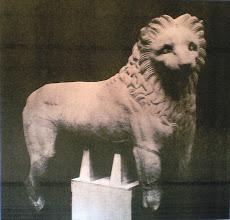 Photo: Fig. 15. Leone da Alicarnasso, marmo pentelico. Londra, British Museum.