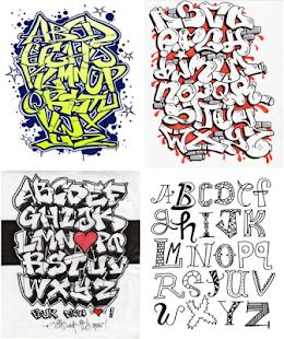 Desain Font Graffiti Keren Apps Bei Google Play