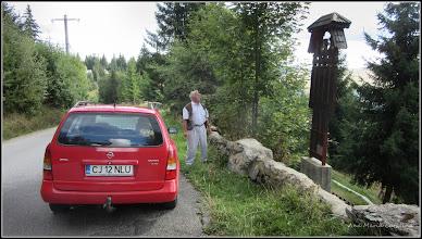 Photo: Troita in localitatea Baisoara - Troita din 1997, ridicata de doctor Marcela si Gabriel Filipescu - autor Nelu Copil  Foto Ana Maria Catalina - 2015.09.08