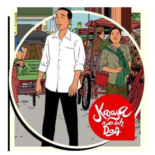 Jokowi Sticker for Whatsapp