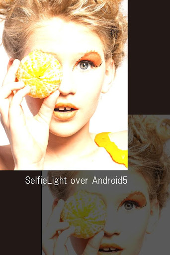 SelfieLight over Android5