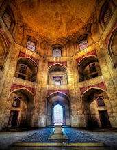 Photo: The Inner Tomb of Humayun - These ancient rooms inside the funerary complex were strangely empty, and I had the whole network of strange rooms to explore on my own.  I also listen to strange music while I take my photos.  This makes everything even more transportive... and it just may have helped me find the nearby reliquary... from Trey Ratcliff at http://www.StuckInCustoms.com - all images Creative Commons Noncommercial