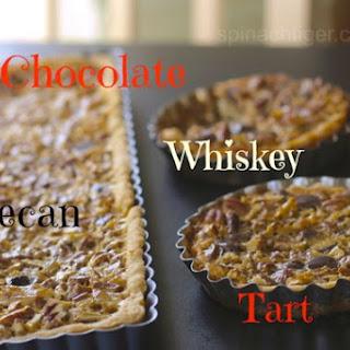 Chocolate Pecan Tart or Steeplechase Pie