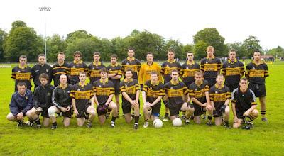 Photo: Senior team v St Marys, Championship 2007