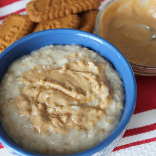Cookie Butter Oatmeal.