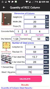 App RCC Concrete Column Calculator APK for Windows Phone