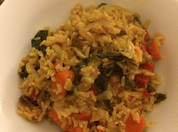 Indian-style Veggie Brown Rice Recipe
