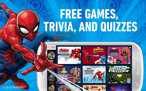 Download Marvel HQ u2013 Games, Trivia, and Quizzes MOD APK 1