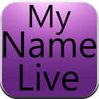 My Name Live Wallpaper Final icon